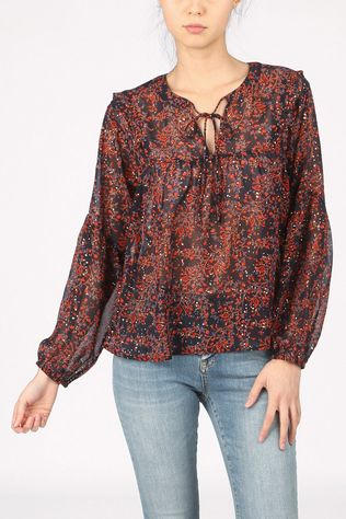 Grace&Mila Shirt Bonita Navy Blue/Red