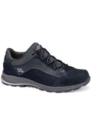Hanwag Shoe Banks Low Bunion LL Navy Blue/Dark Grey
