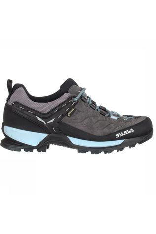 Salewa Shoe MTN Trainer Gore-Tex dark grey/light blue