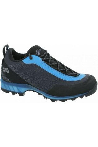 Hanwag Shoe Ferrata Low Gore-Tex dark grey/blue
