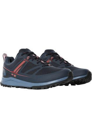 The North Face Schoen Litewave Fastpack II Futurelight Donkerblauw/Donkerrood