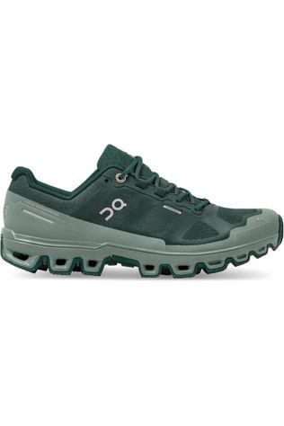 On Running Shoe Cloudventure Waterproof Women dark green/mid green