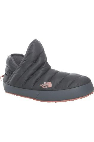 The North Face Winterschoen Tb Tractionie Donkergrijs/Lichtroze