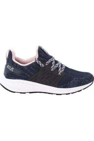 Jack Wolfskin Shoe Coogee Knit Low dark blue/light pink