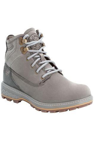 Jack Wolfskin Chaussure Jack Mid Gris Clair/Brun Sable
