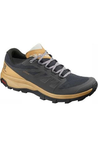 Salomon Chaussure Outline Gore-Tex Gris Moyen/Or