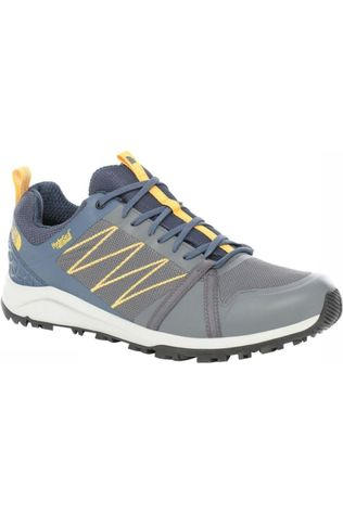 The North Face Chaussure Litewave Fastpack II Gris Moyen/Marine