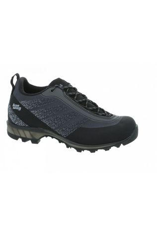 Hanwag Shoe Ferrata Light Low Gore-Tex dark grey/black