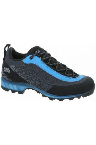 Hanwag Shoe Ferrata Light Low Gore-Tex dark grey/blue