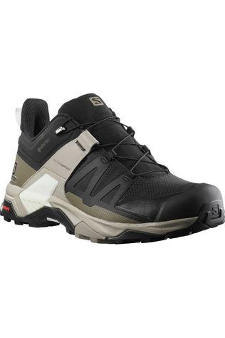 Salomon Schoen X Ultra 4 Gore-Tex Men Zwart/Middenkaki