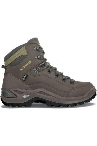 Lowa Shoe Renegade Mid Gore-Tex dark grey/mid green