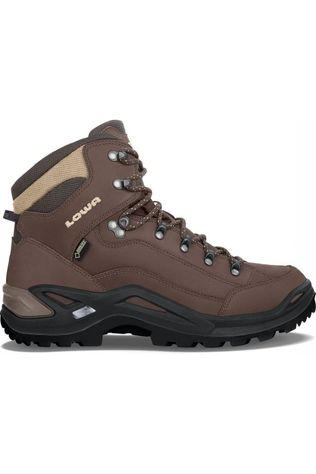 Lowa Shoe Renegade Mid Wide Gore-Tex dark brown/black