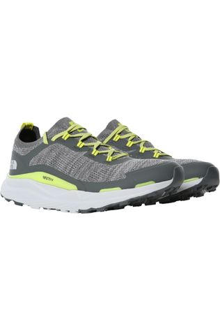 The North Face Chaussure Vectiv Escape Gris Moyen/Citron vert
