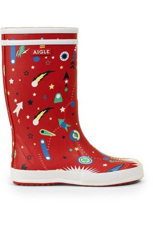 Aigle Boot Lolly Pop Fun Red/Assorted / Mixed
