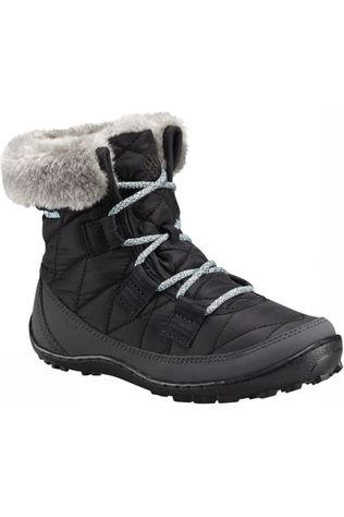Columbia Winter Boot Minx Shorty Omni-Heat Waterproof black/light blue