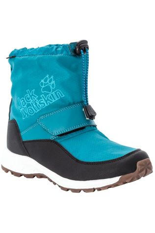 Jack Wolfskin Winter Boot Woodland Texapore Wt Mid Vc Turquoise/Dark Grey