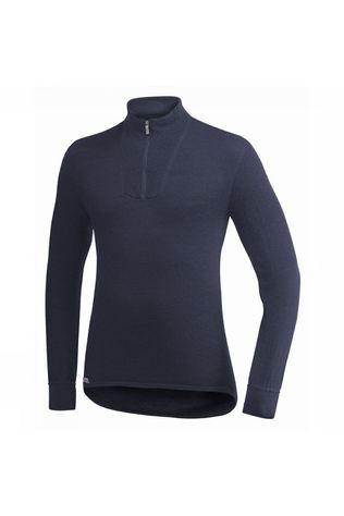Woolpower Underwear Zip Turtleneck 200 (unisex baselayer) dark blue