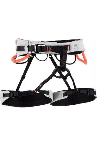Mammut Harnais Cuissard Sender Fast Adjust Harness Gris Clair/Orange