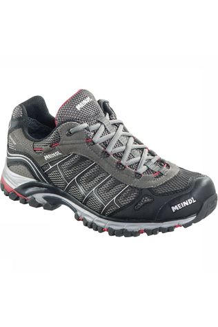 Meindl Shoe Cuba dark grey/red