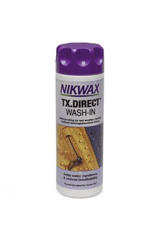 Nikwax Entretien TX Direct Wash-in Pas de couleur / Transparent