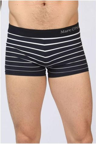 Marc O'Polo Slip  Stripes Brief NOIR/BLANC