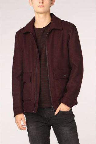 Esprit Manteau 099Ee2G013 Bordeaux / Marron