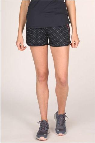Esprit Shorts Woven Aop Navy Blue/White