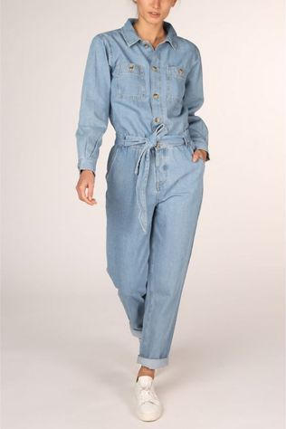 Tom Tailor Jumpsuit 1017630 Lichtblauw