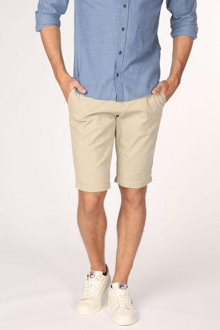 Tom Tailor Short 1016045 Brun Sable