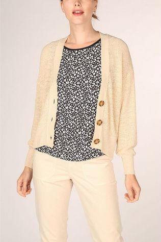 Tom Tailor Cardigan 1017853 Ecru