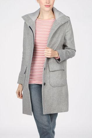 Tom Tailor Coat 1020590 black/off white
