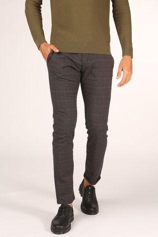 Tom Tailor Trousers 1020451 Dark Grey/Ass. Geometric