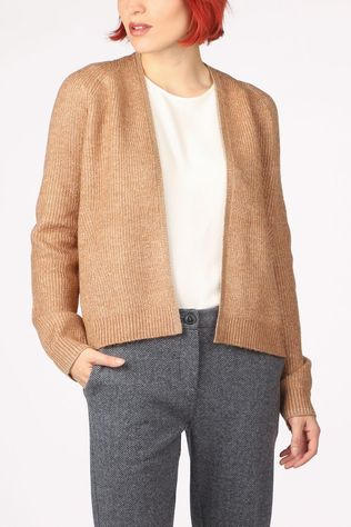 Tom Tailor Cardigan 1022085 Marron Chameau