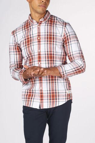 Tom Tailor Shirt 1024212 off white/rust