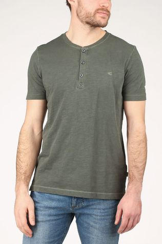 camel active T-Shirt 409474-9T04 dark khaki