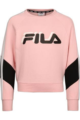 Fila Pull Mila Cropped Crew Rose Clair