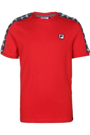 Fila T-Shirt Clemens Taped Rouge