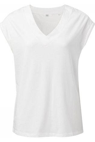 Yaya T-Shirt Jersey V-Neck Padded Cap Sleeves Wit