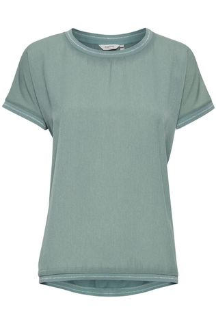 B.Young T-Shirt Bypanya W Rib light green