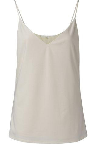 Yaya T-Shirt Lyocell Fabric Mix Cami Ecru