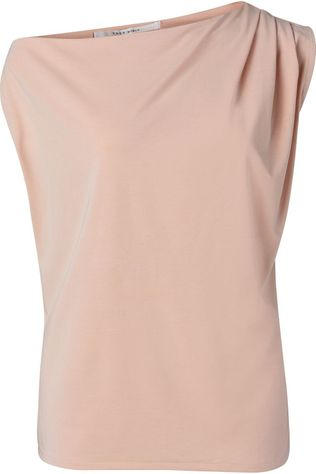 Yaya T-Shirt Asymmetric With Pleast At Shoulder Lichtroze