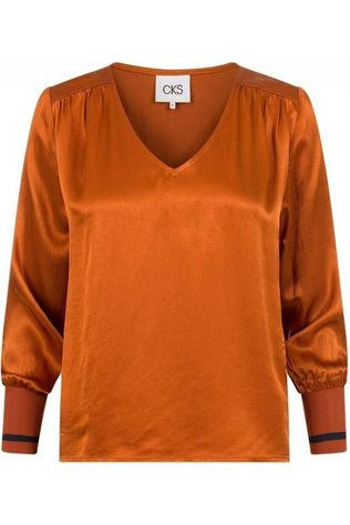 CKS Women Shirt Najaf rust