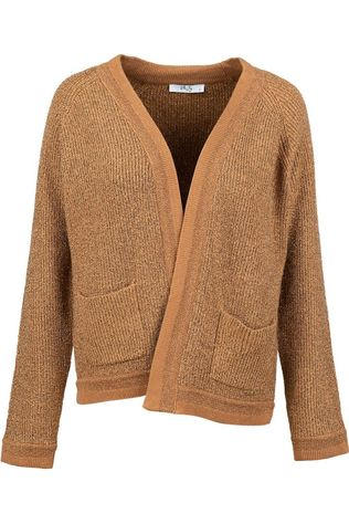 Vila Joy Cardigan Avocado-L-15-A Camel Brown