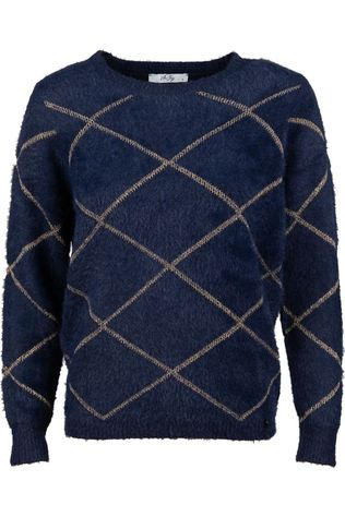 Vila Joy Pullover Oregano-L-12-B Navy Blue