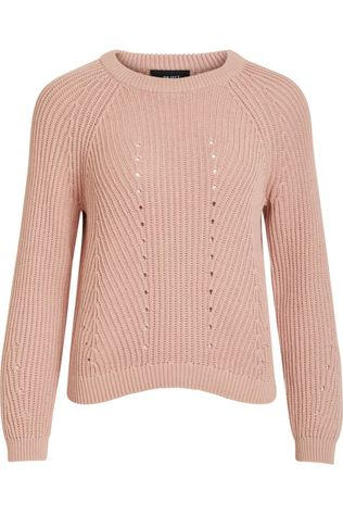 Object Pullover Maya Long Sleeve Knit Noos light pink