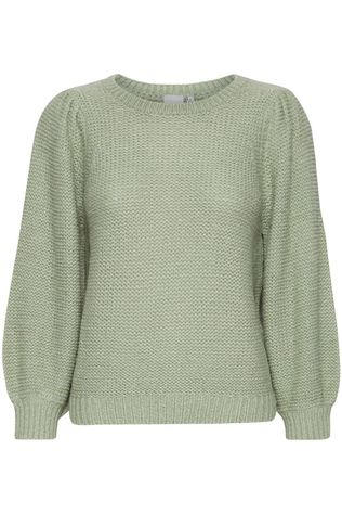Ichi Pullover Ihmonika Ms light green