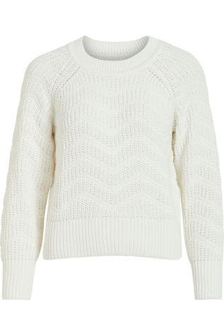 Object Pullover  Rosa L/S Knit Pullover 110 off white