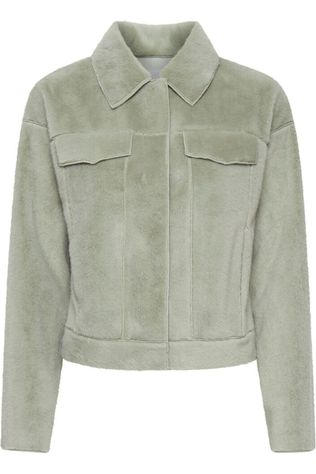 Ichi Blazer Ihfurry Ja2 light green