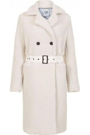 CKS Women Coat Cardiff off white