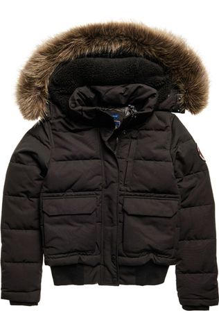 Superdry Coat Everest Bomber black